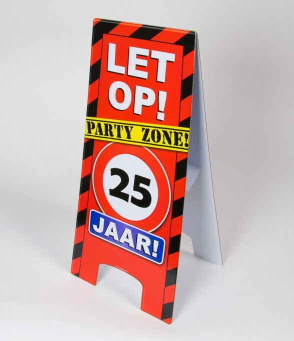 Warning Signs 25 Jaar