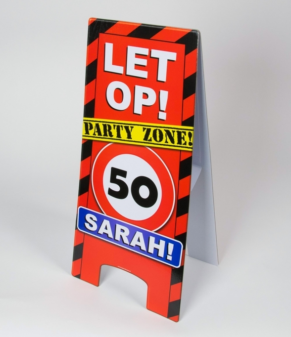 Warning Signs 50 Jaar Sarah